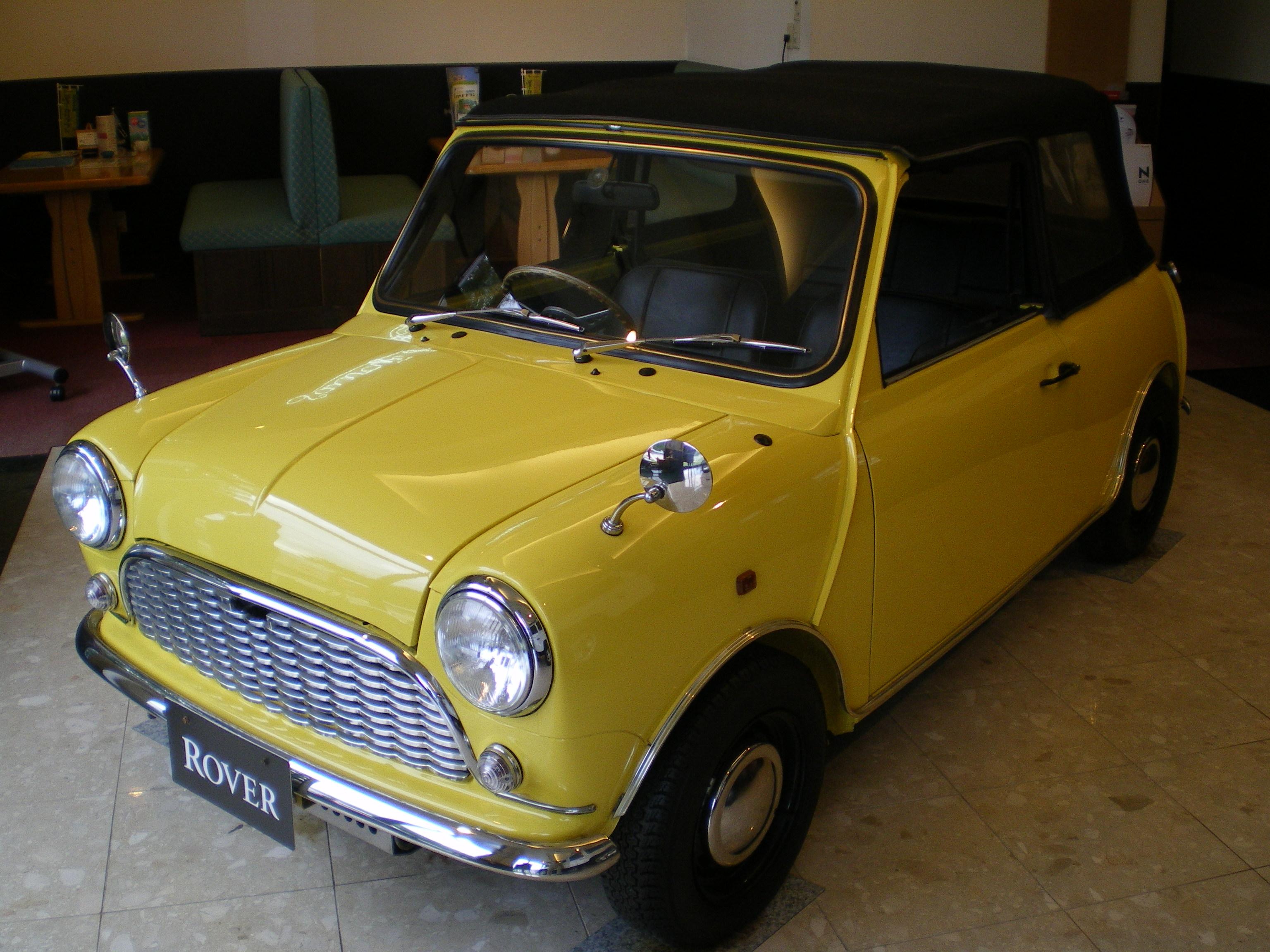 ROVER MINI オープンカー